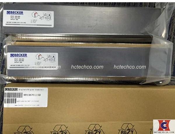 Cánh than carbon bơm chân không chính hãng Becker chất lượng